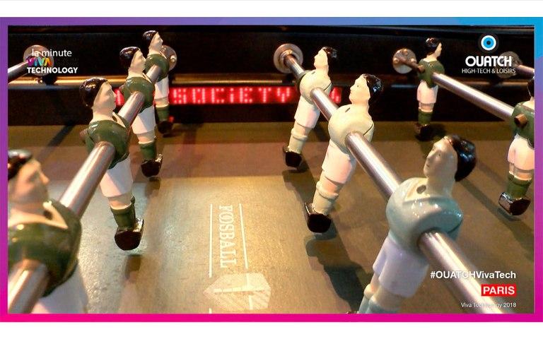 la minute Viva Technology S01E33 : Foosball Society, le baby-foot qui débouche sur un réseau social