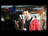 World champion Lucian Bute talks about his fight with Carl Froch