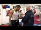 Chris Eubank talks about his son Chris Eubank boxing interview Ciaran Gibbon