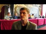 Exclusive Ricky Hatton Interview 22/11/12