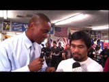 Manny Pacquiao Reveals New Strategy For Marquez Fight