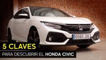 5 Claves del nuevo Honda Civic 5 puertas 1.0