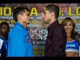 Josesito Lopez vs Marcos Maidana (weigh-in)