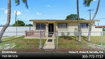 Single Family For Sale: 7101 SW 12 St Miami,  $370000