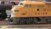 Model Railroading with US Model Trains in HO Scale - Video by Pilentum about model railroading and railway modelling