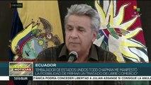 Lenín Moreno: abierto a acuerdo comercial con EE.UU.