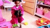 VAIANA ET MAUI consolent JASMINE !3 poupées Disney (Maë samuse )