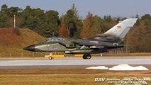 Panavia Tornado IDS German Air Force 98+59 - takeoff at Manching Air Base [2160p25]