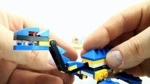 4 surprise egg dinosaurs - Lego compatible dinosaur bricks - T-Rex Plesiosaurus Speed Build