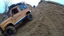 4x4 off-road rc adventures Land Rover defender 90, defender 110, JEEP, UAZ часть II