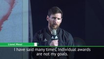 Messi putting Barcelona achievements above personal glory