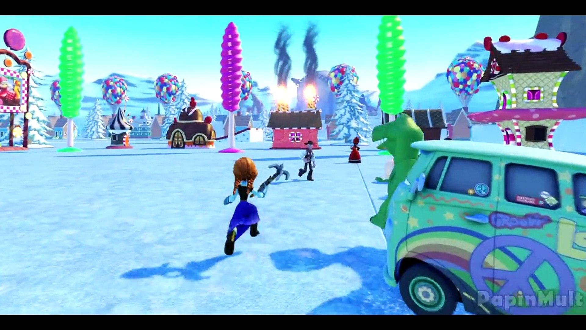 Королева Эльза Холодное Сердце Принцесса Анна и Олень Свен Disney Frozen Anna and Elsa princess