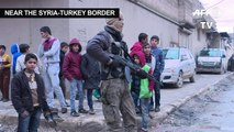 Locals near Turkish-Kurd battle brace for long campaign
