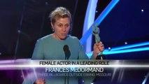 Frances McDormand_ Acceptance Speech _ 24th Annual SAG Awards