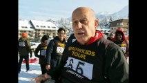 Villard-de-Lans : certains Jeunes ambassadeurs découvraient la neige pour la première fois !