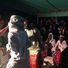 Prestation de danse Mandingue de Falone Bagboda danseuse de Serge Beynaud