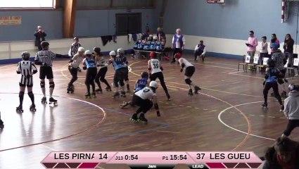Scrimmage Les Pirnanas vs Les Gueuses de Pigalle -27/01/2018