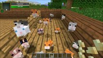 Minecraft: PET HAMSTERS (BREED THEM, SIT ON YOUR HEAD, HAMSTER BALLS!) Mod Showcase