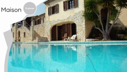 A vendre - Maison/villa - Vence (06140) - 9 pièces - 260m²