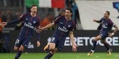 But Cavani PSG 1-0 Montpellier - Cavani est le meilleur buteur de l'histoire du PSG