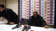 Elazığspor-Eskişehirspor maçının ardından - Teknik Direktörler Kalpar ve İldiz - ELAZIĞ