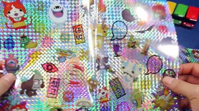 요괴워치 요괴 스티커메이커 장난감 조립 폴리 타요 팜팜 YouKai Watch Sticker Maker Toys 妖怪 ウォッチ メダル おもちゃ Kit Toys