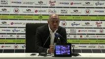 La réaction d'Antoine Kombouaré après EAG-Nantes (0-3)