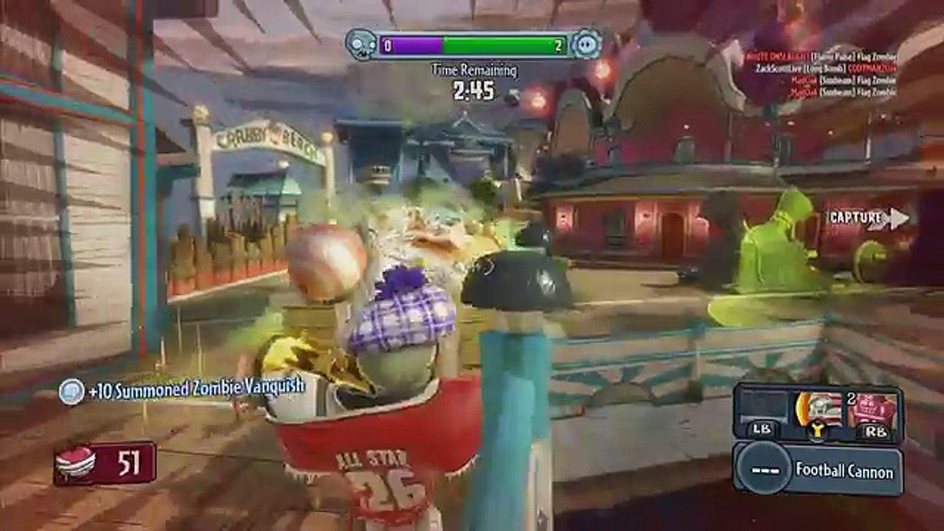 Plants vs. Zombies: Garden Warfare - Gameplay Walkthrough Part 98 - Gardens & Graveyards (Xbox O