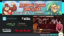 AGDQ new Binding of Isaac Race sagev3 vs Slackaholicus