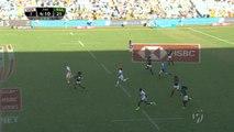 Rugby à 7 - Sydney - Un essai incroyable entre les Etats-Unis et l'Afrique du Sud