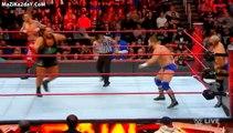 the revival vs Heath Slater & Rhyno tag team match wwe monday night raw december 18 2017