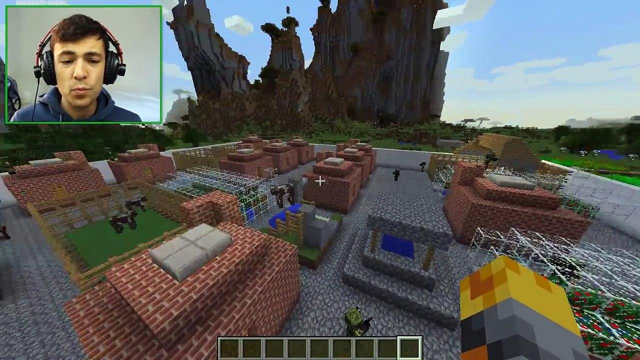 Minecraft ZOMBIE APOCALYPSE MOD / SURVIVE THE DREADED ZOMBIE INVASION!!  Minecraft