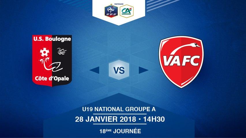 U19 National - US Boulogne CO / Valenciennes FC - Dimanche 28/01/2018 à 14h15 (11)