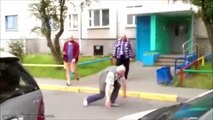 5 Funny Old People Fights Caught on Camera - O.A.Ps Fighting Compilation.