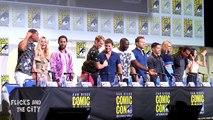 SUICIDE SQUAD Comic Con Panel - Margot Robbie, Will Smith, Jared Leto