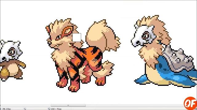 Pokemon Fusion Sprite: Request #42: Gen 7 Starters: Incineroar Decidueye Primarina Sun and Moon