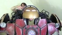 XRobots - Iron Man Hulkbuster Cosplay Part 38, Helmet & Shoulder Panels