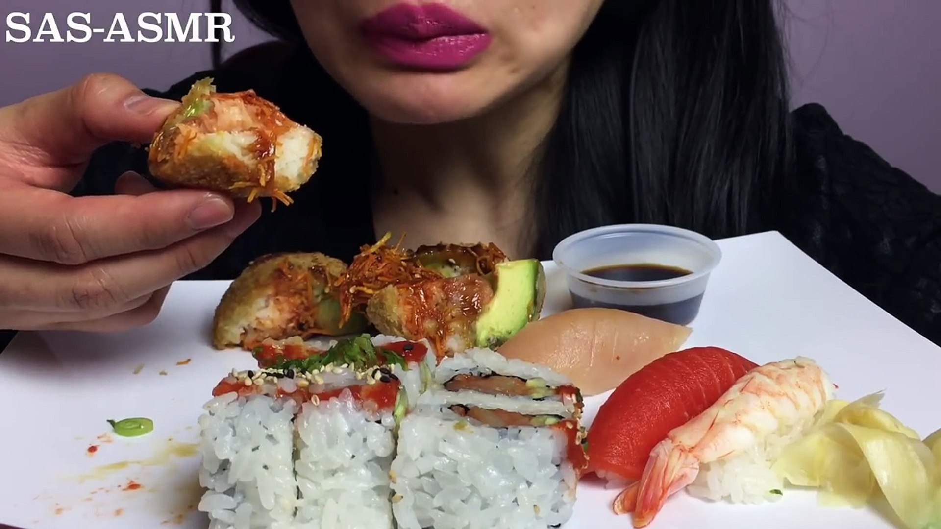 Asmr Sushi Spicy Tuna Sushi Monkey Brain Nigiri Eating Sounds Sas Asmr Video Dailymotion Thank you so much for being here and spending time with me. asmr sushi spicy tuna sushi monkey brain nigiri eating sounds sas asmr