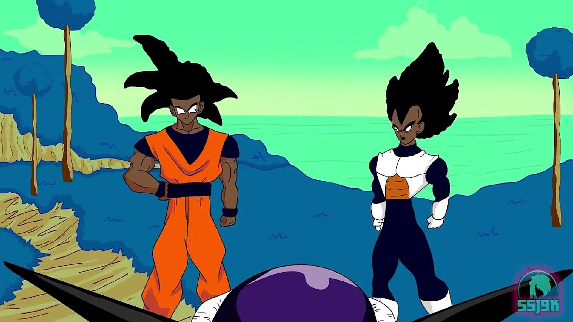 If Goku And Vegeta Were Black Dbz Parody Video Dailymotion