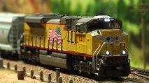 Trains miniatures de chemin de fer de Sherman Hill en Amérique - Une vidéo de Pilentum Télévision sur le modélisme ferroviaire avec des trains miniatures