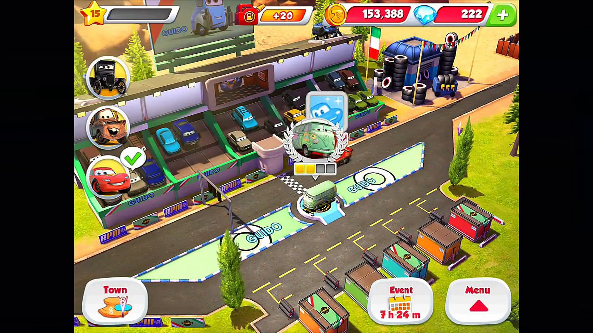 GUIDO! Level 07 - CARS: Fast as Lightning