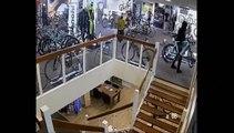Ils volent pour l'équivalent de 100.000€ de vélos en quelques minutes