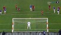 Alessandro Florenzi Miss Penalty - AS Roma 0-0 Sampdoria 28-01-2018