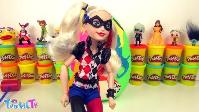 Harley Quinn Sürpriz Yumurta Oyun Hamuru - Harley Quinn Oyuncakları MLP Elsa