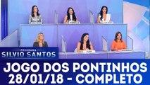 Jogo dos Pontinhos - Programa Silvio Santos - 28.01.2018