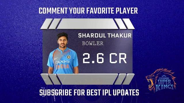 Chennai Super Kings CSK Official IPL 2018 Player List, Team & Full Squad Dhoni, Raina, Kedar Jadhav