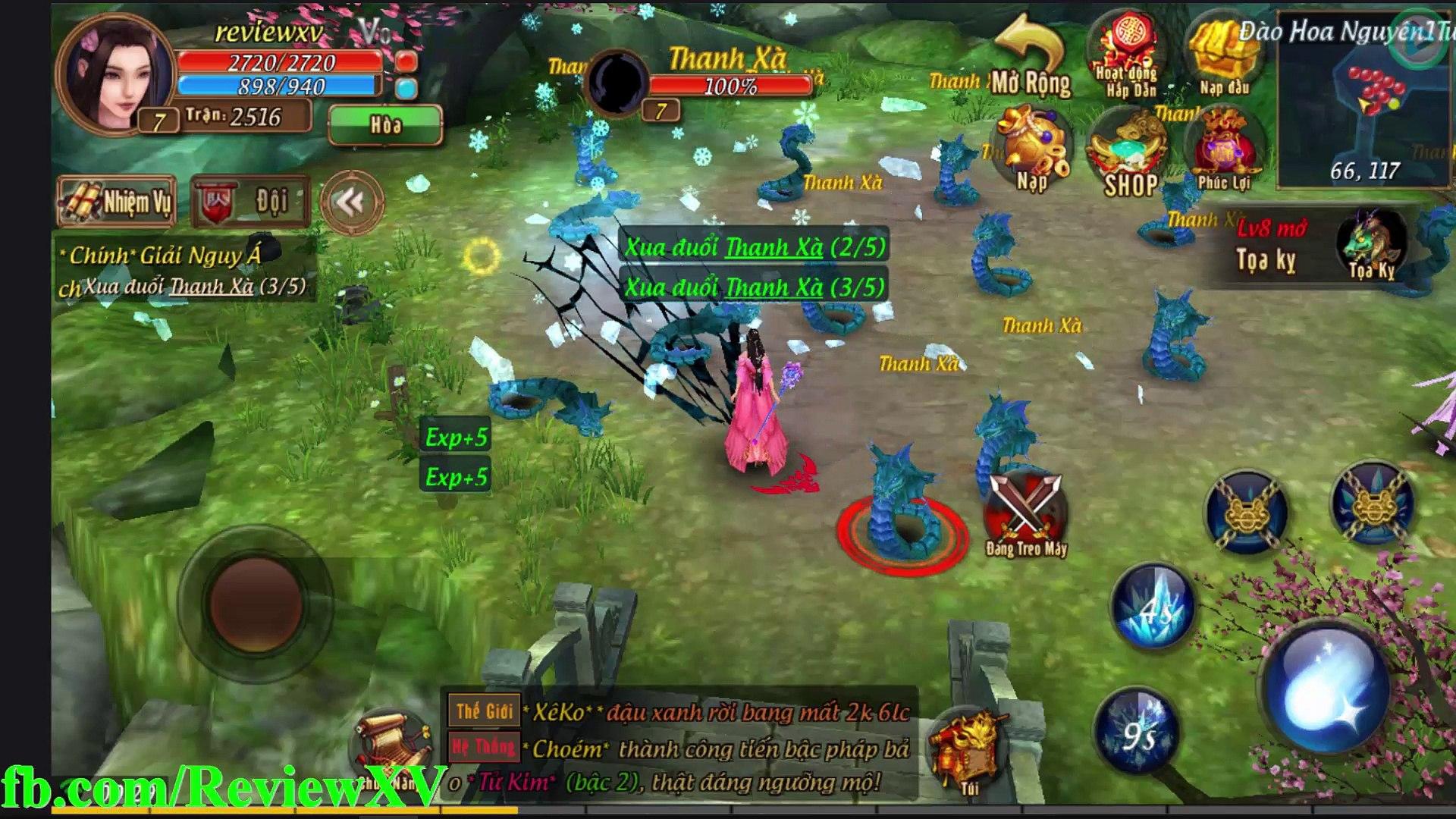 Game Mobile Kiếm Đảng Giang Hồ Game nhập vai cày cuốc Kiếm hiệp và Tiên hiệp