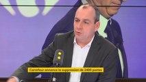 """Carrefour : """"Il faut qu'en 2018 il n'y ait pas de versement de dividendes"""" demande Laurent Berger (CFDT)"""