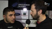 Provence Rugby / Strasbourg : la réaction de Mohamed Loukia