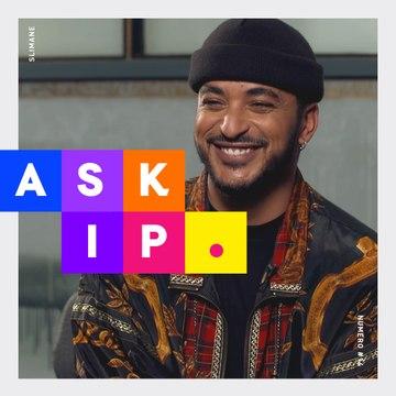 SLIMANE « J'aimerais bien écrire pour Claudio Capéo » - Interview ASKIP
